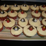Penguins and Robin cupcakes